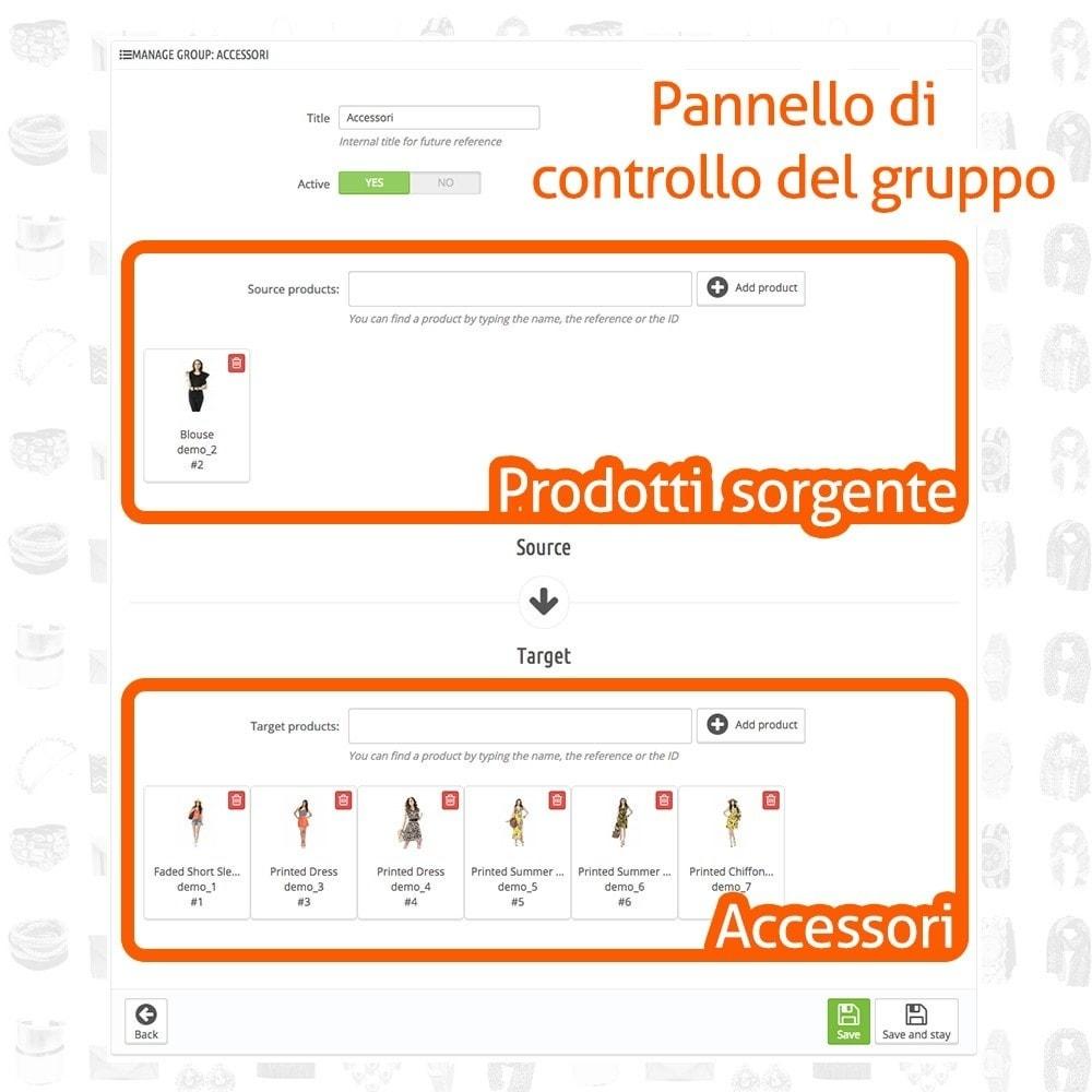 module - Modifica rapida & di massa - Fast and Easy Associazione Massiva Accessori - 3