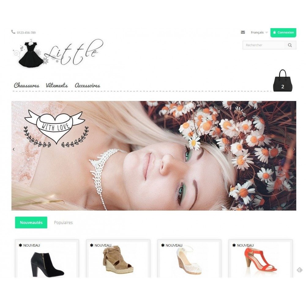 theme - Moda y Calzado - Little - 2