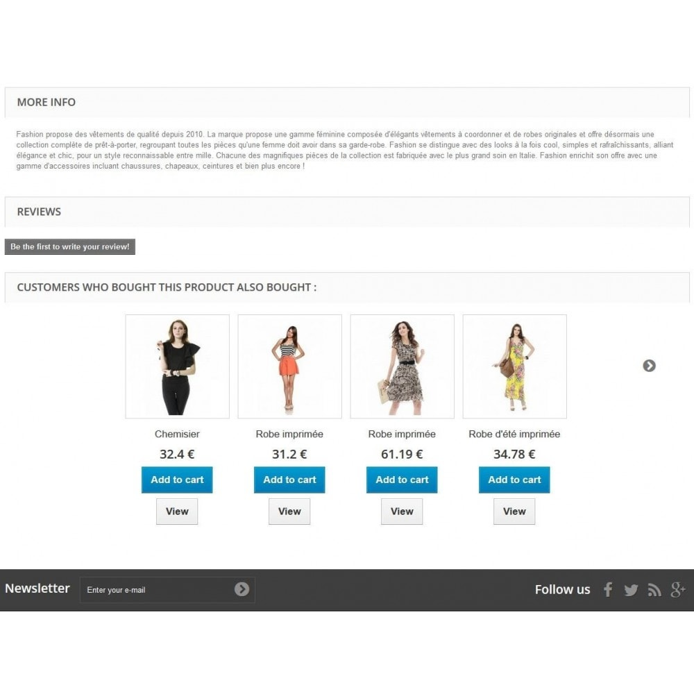 module - Ventas cruzadas y Packs de productos - Cross Selling / Manual related product with add to cart - 5