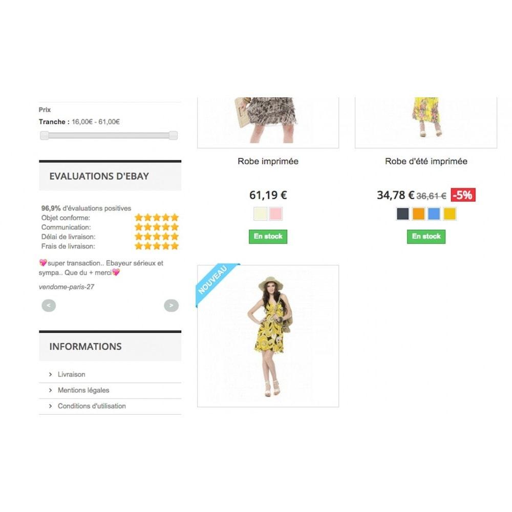 module - Avis clients - Commentaires eBay - 1