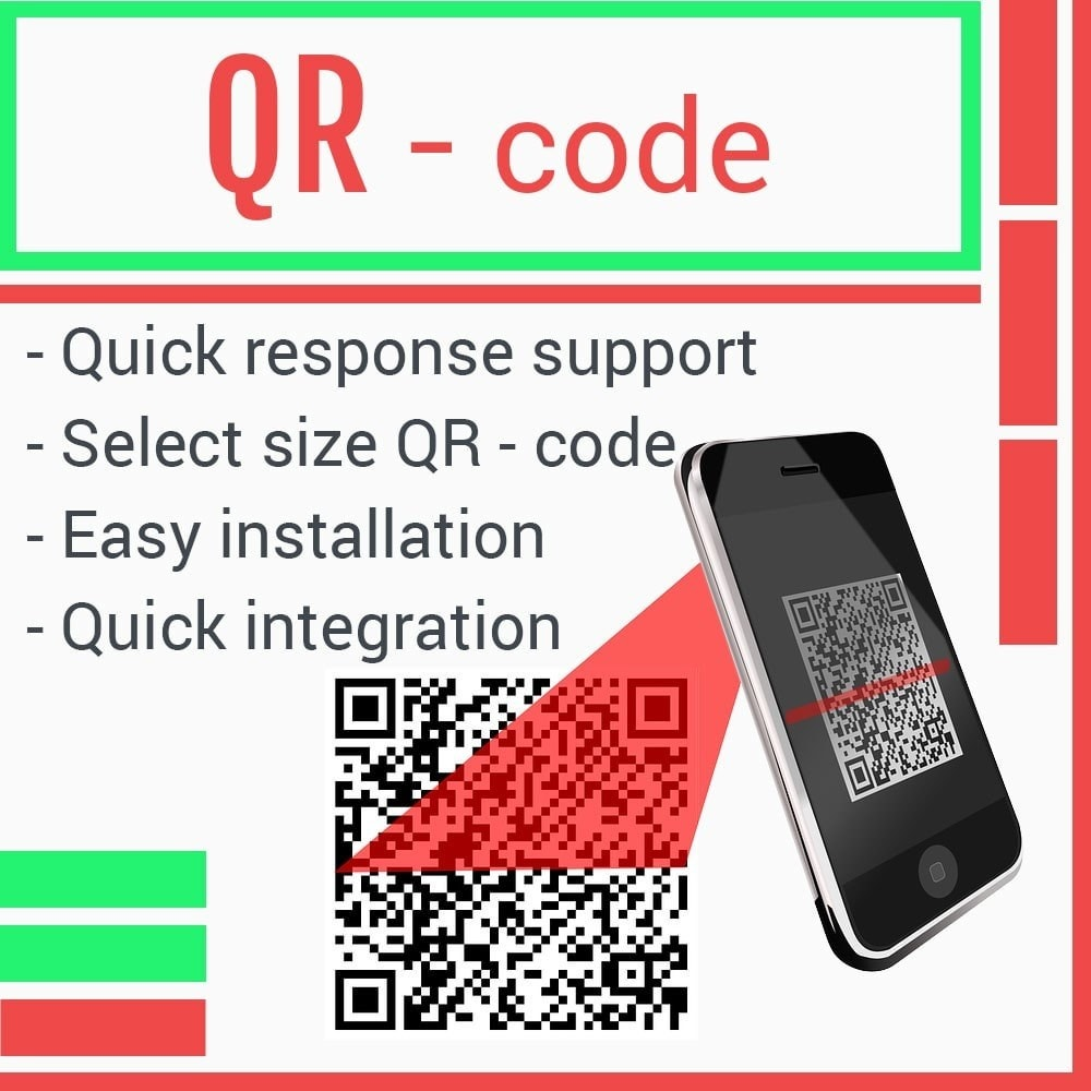 module - Informaciones adicionales y Pestañas - QR code for your product page - 1