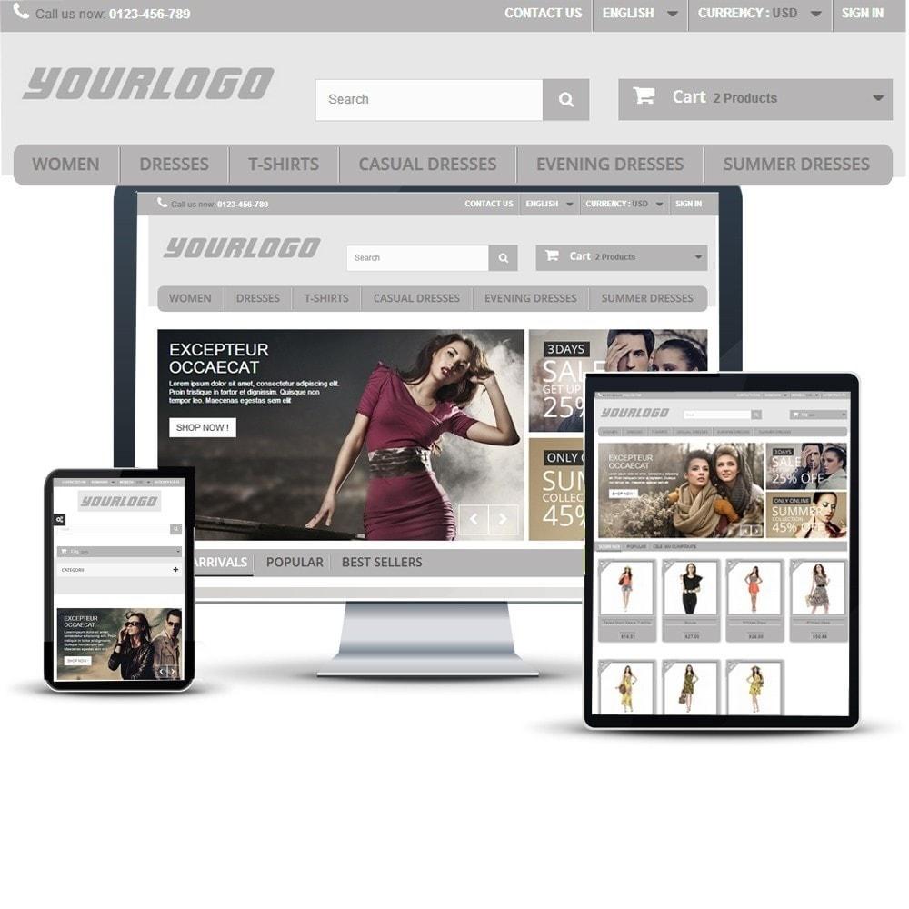 theme - Mode & Schoenen - Modern Design - Prestashop Responsive - 2