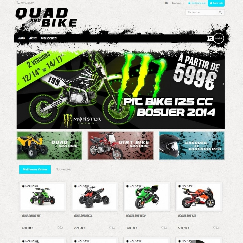 theme - Carros & Motos - Quad and Bike - 2