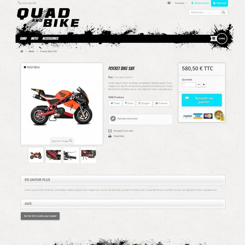 Quad and Bike