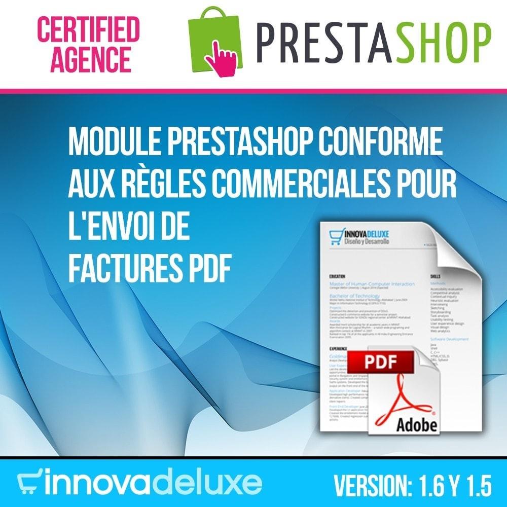 module - Buchhaltung & Rechnung - Elektronische Rechnung (gesetzlichen Vorgaben) - 1