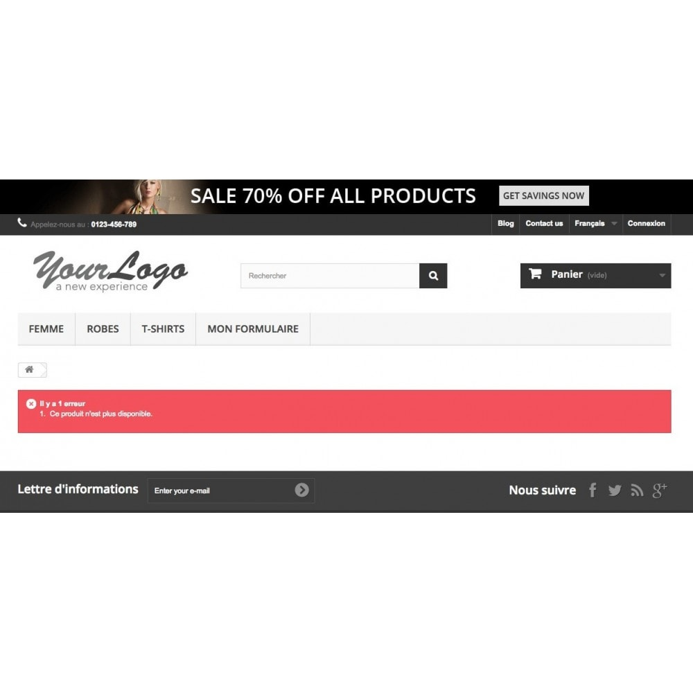 module - URL & Redirections - Redirection 301 des produits désactivés - 1