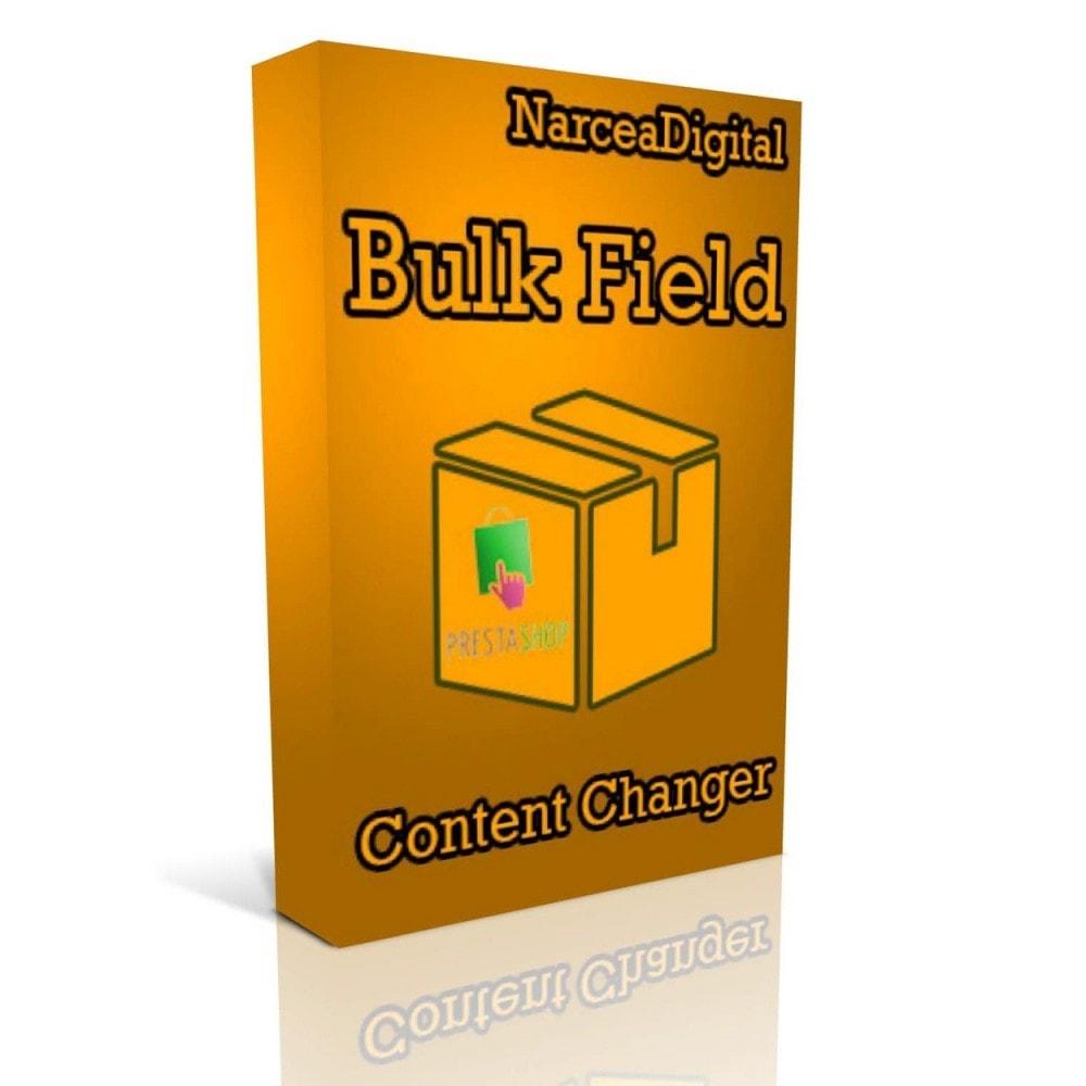 module - Edición Rápida y Masiva - Bulk Field Content Changer - 1