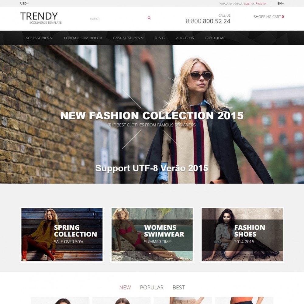 theme - Мода и обувь - Trendy - Магазин Модной Одежды - 1
