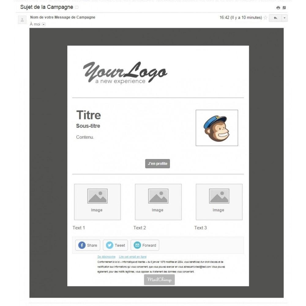 pack - Les offres du moment - Faites des économies ! - Promo (Pack) : Newsletter Mailchimp + Bandeau Promo - 3