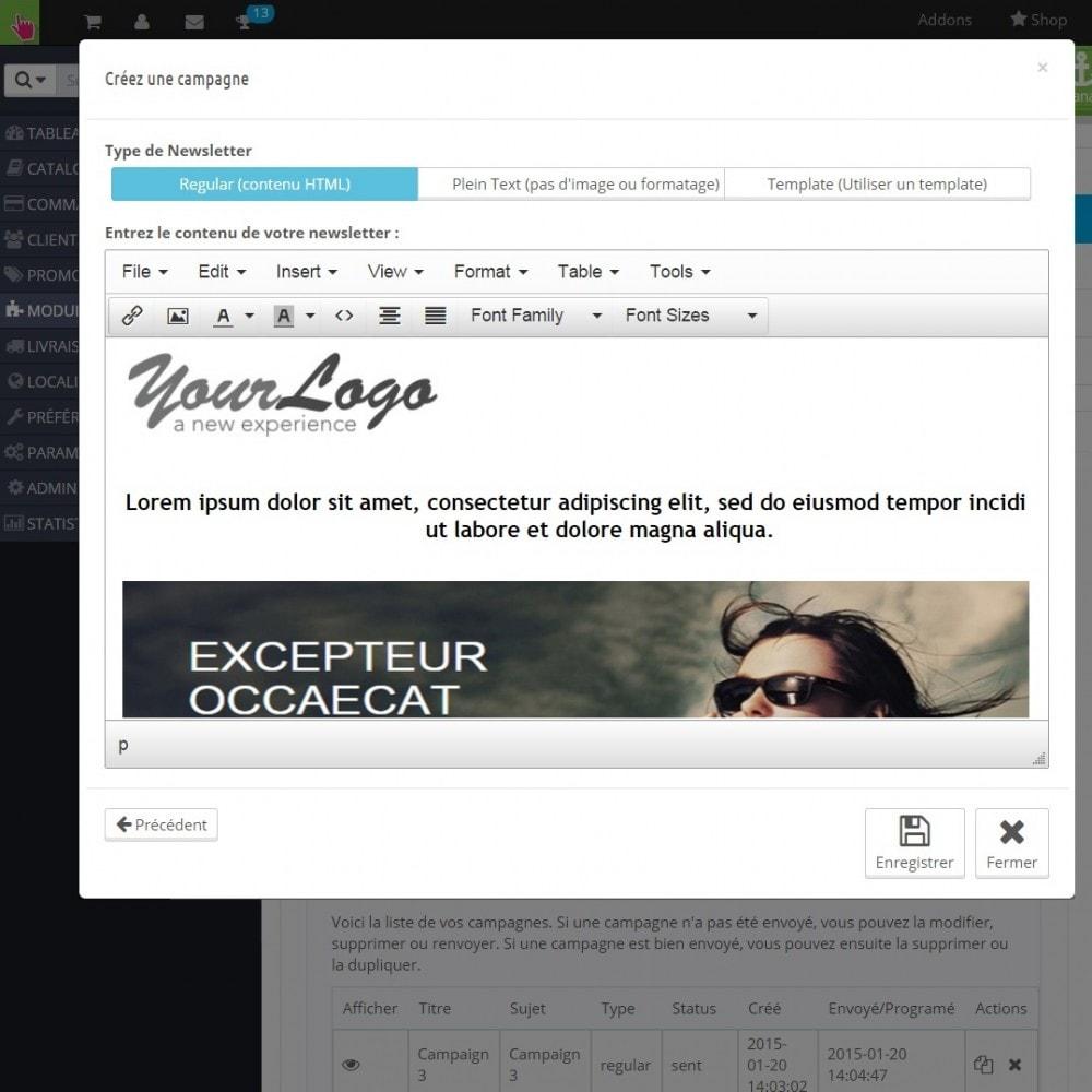 pack - Les offres du moment - Faites des économies ! - Promo (Pack) : Newsletter Mailchimp + Bandeau Promo - 7