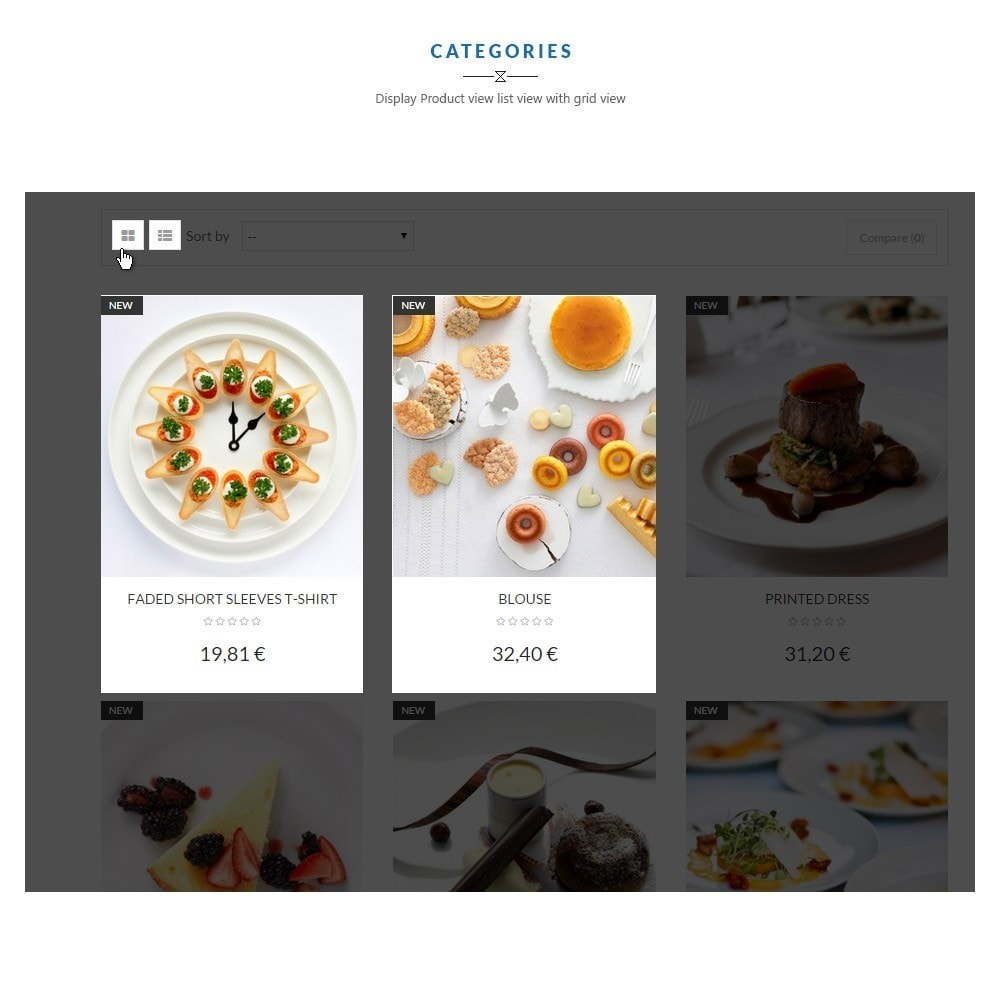 theme - Alimentos & Restaurantes - Leo Food Collection - 3