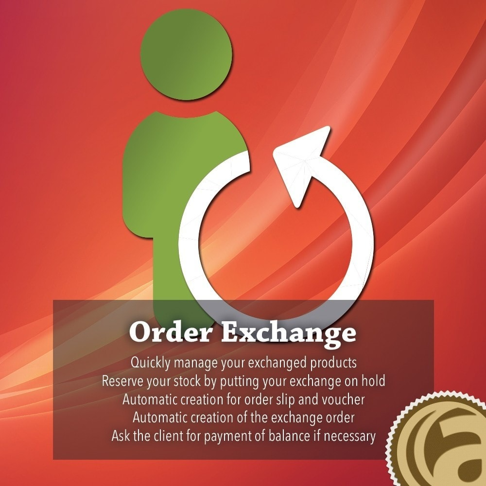 module - Kundenservice - Order exchange return - 1