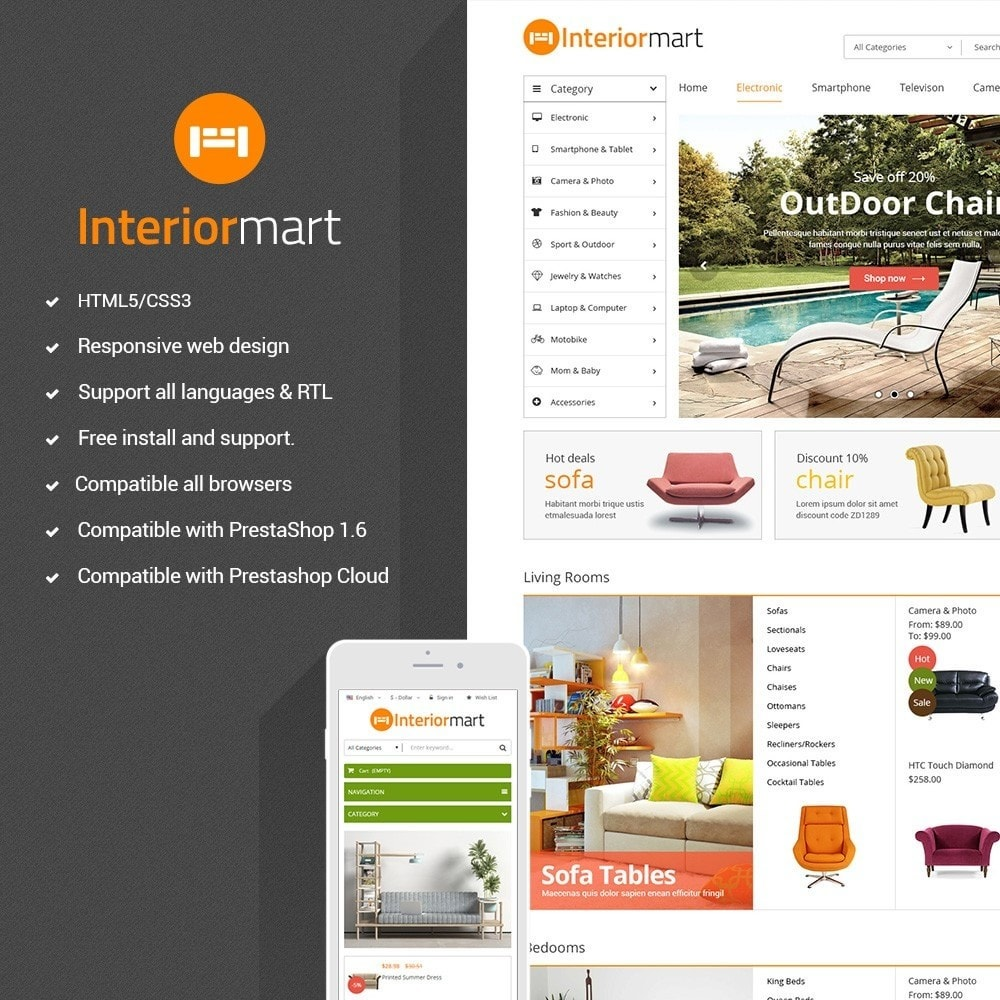 theme - Home & Garden - Funismart - Furniture Store Responsive PrestaShop - 1