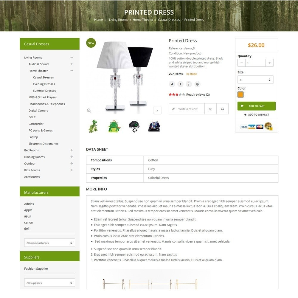 theme - Home & Garden - Funismart - Furniture Store Responsive PrestaShop - 4