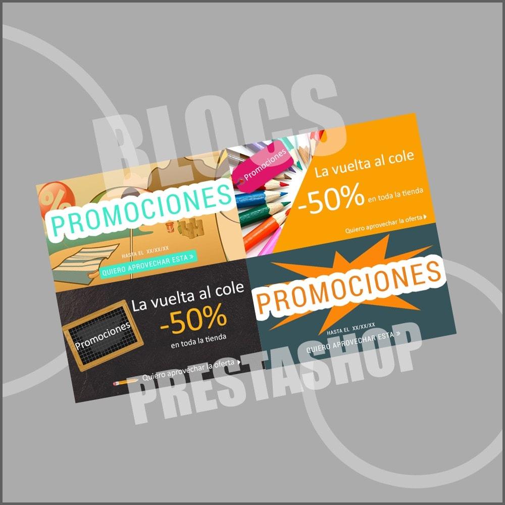 other - Material Visual para promociones online - 10 Imágenes promocionales - Verano - 3