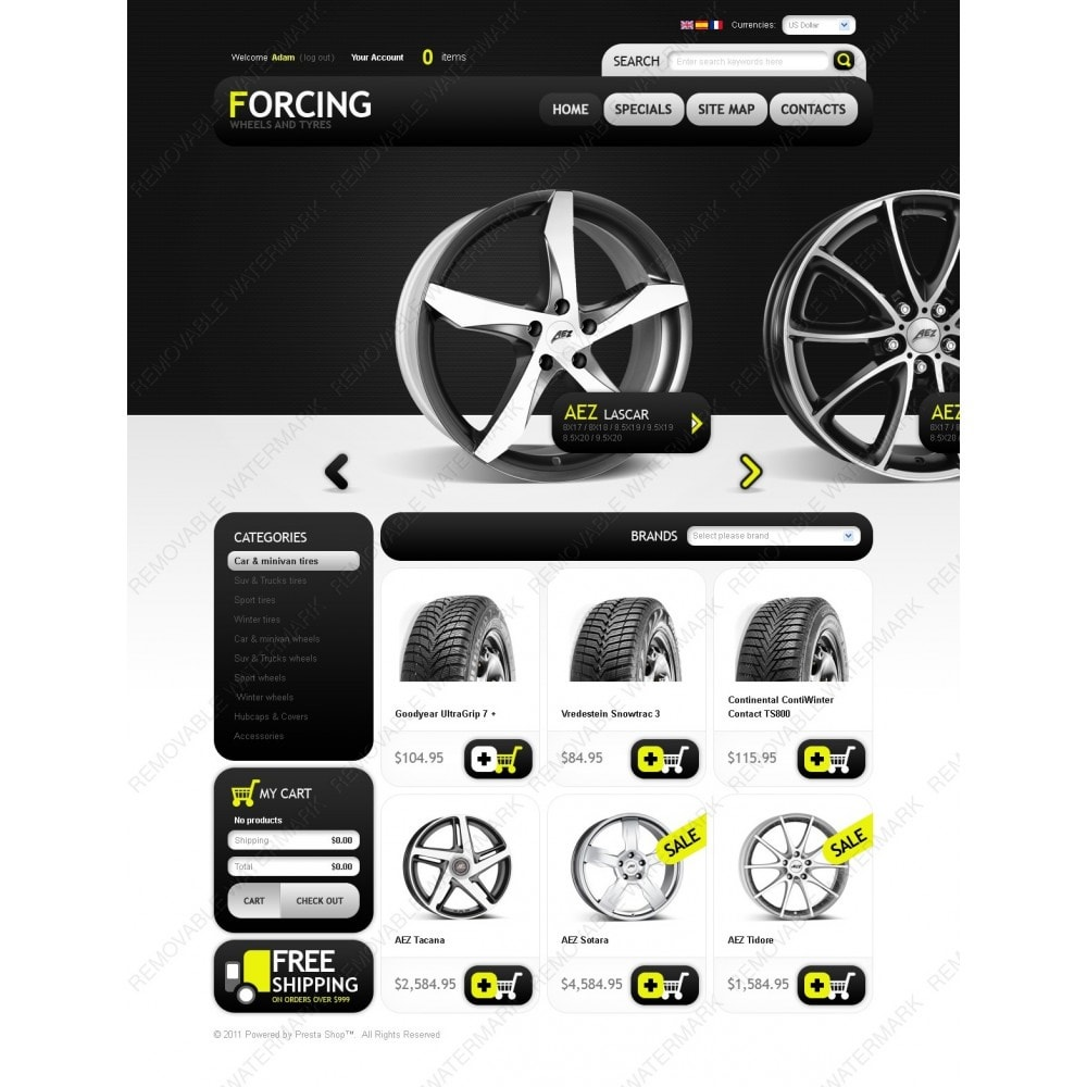 theme - Automotive & Cars - Wheels & Tires - 6