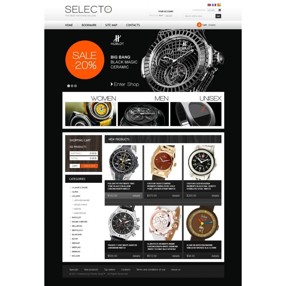 theme - Fashion & Shoes - Watches Online - 4