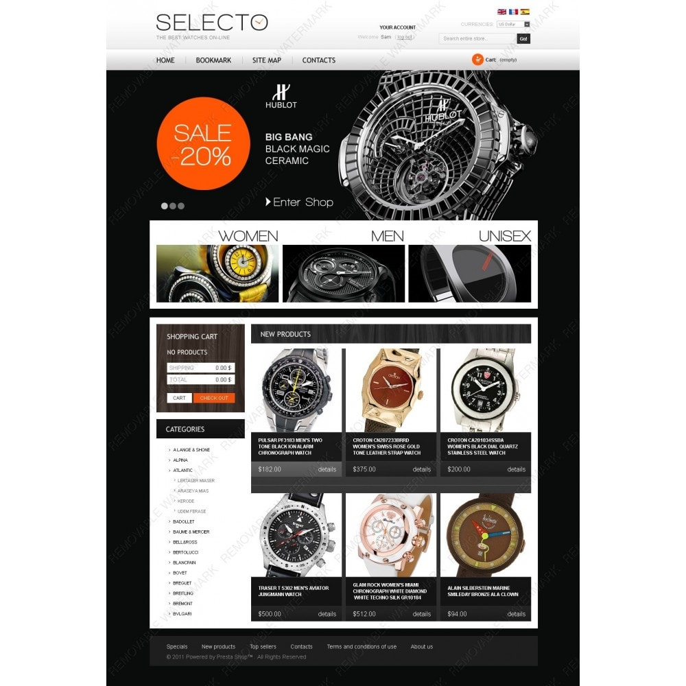 theme - Fashion & Shoes - Watches Online - 6