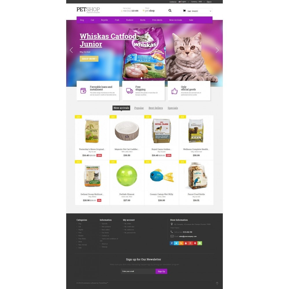 theme - Animals & Pets - Pet Shop - 2