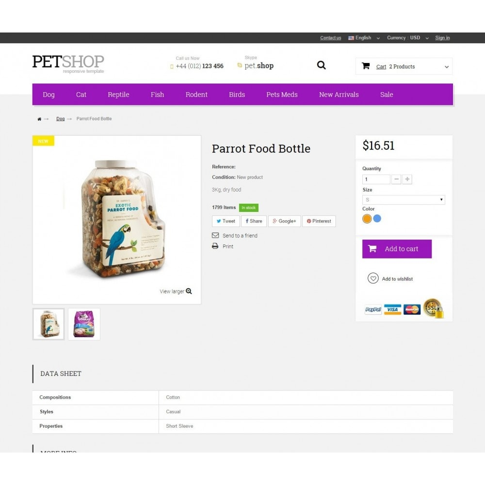 theme - Animali - Pet Shop - 8