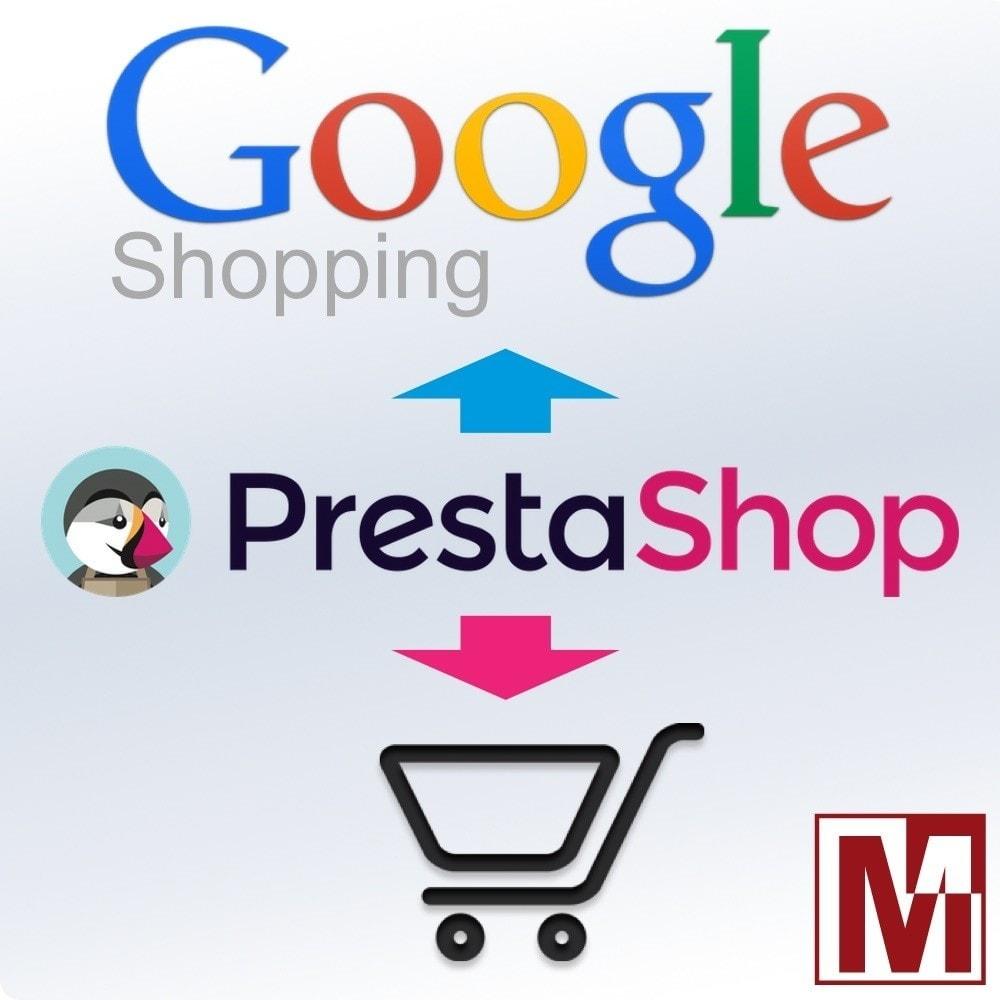 module - Référencement payant (SEA SEM) & Affiliation - Export Google Shopping (Google Merchant Center) - 1