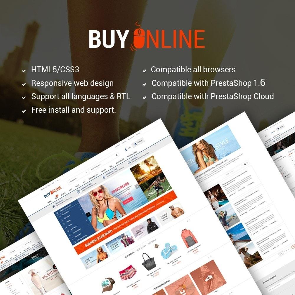 BuyOnline - Fashion Store Responsive PrestaShop