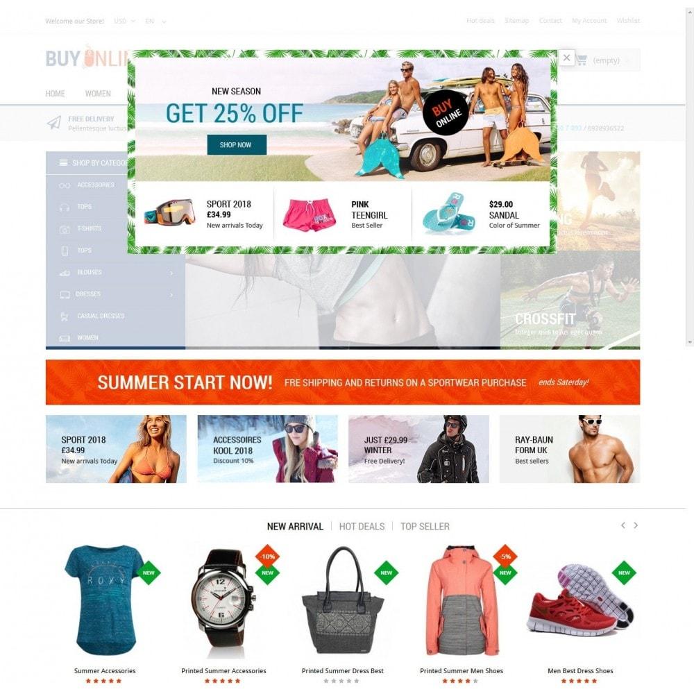 theme - Mode & Schuhe - BuyOnline - Fashion Store Responsive PrestaShop - 6