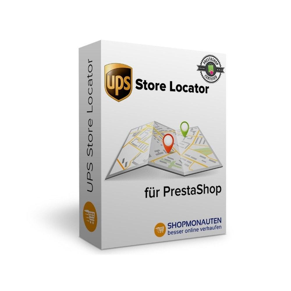 module - Abholstationen & Selbstabholer - UPS Store Locator - 1