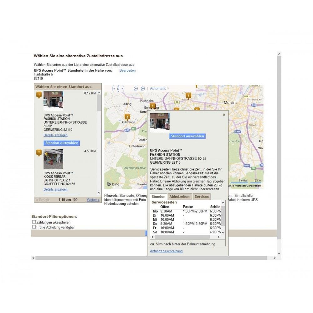 module - Abholstationen & Selbstabholer - UPS Store Locator - 4