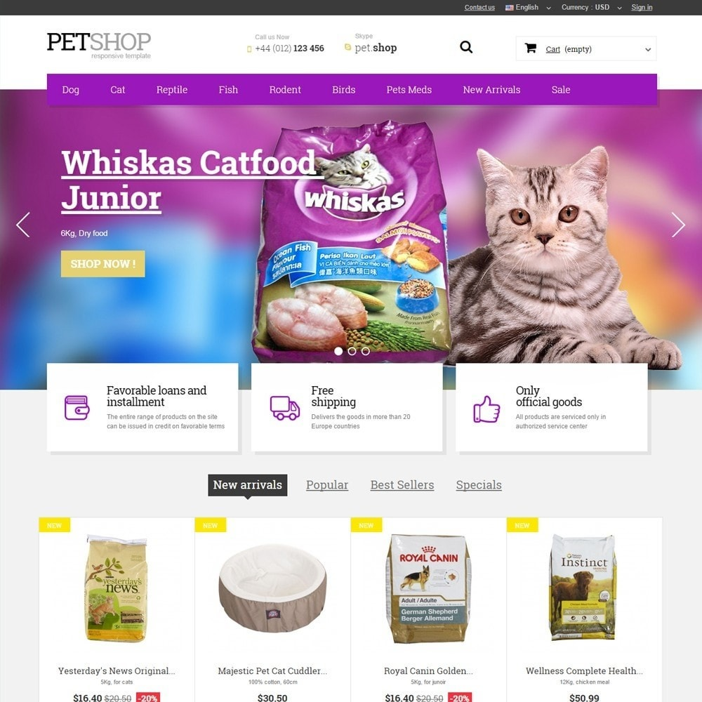 theme - Animals & Pets - Pet Shop - 1