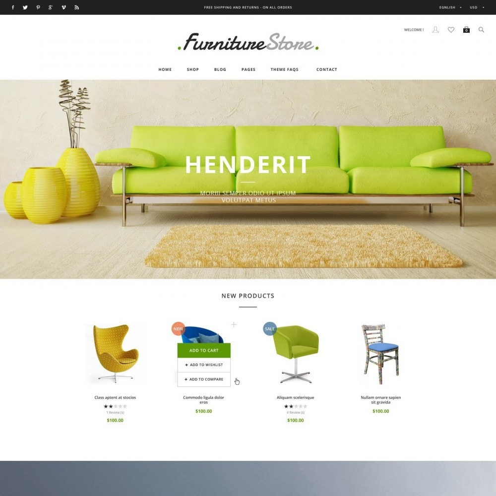 theme - Heim & Garten - ET Furniture - Soffa & Bussiness PrestaShop Theme - 1