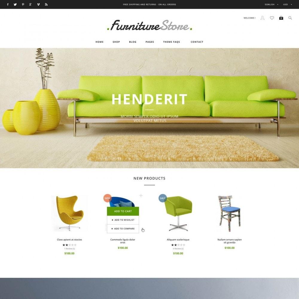 soffa electric commerce ~ et furniture  soffa & bussiness prestashop theme