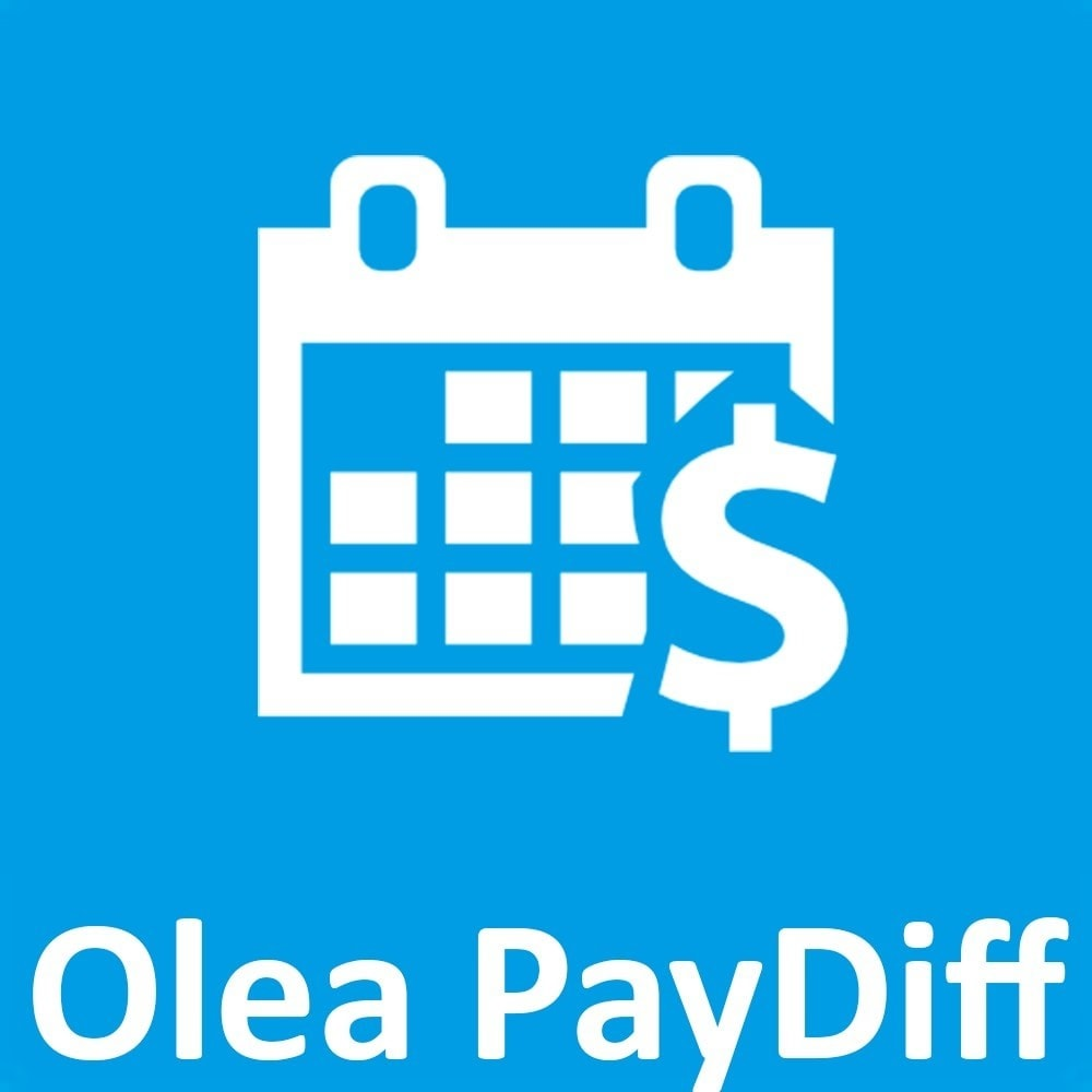 module - Formas de Pagamento Alternativas - OleaPaydiff - Deferred payments to end of month - 1