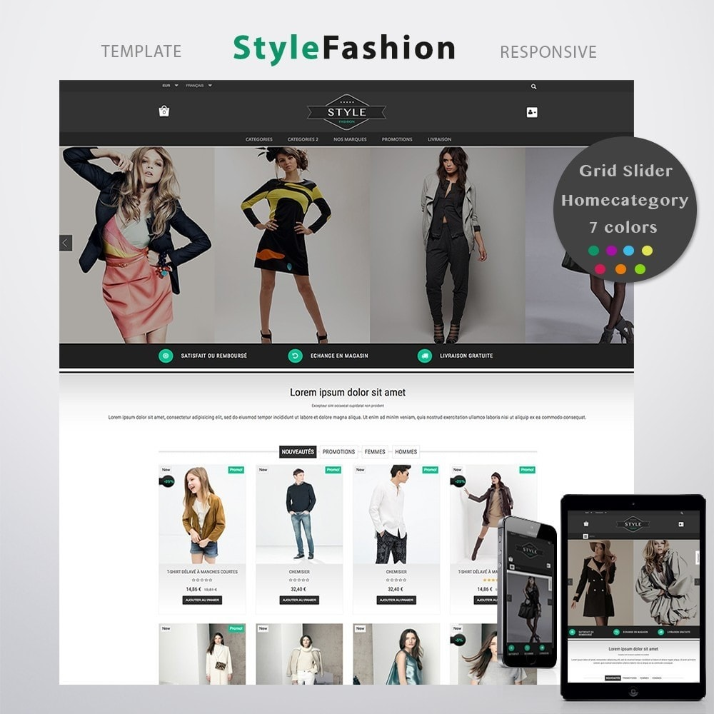 theme - Moda y Calzado - STYLE-FASHION - 1