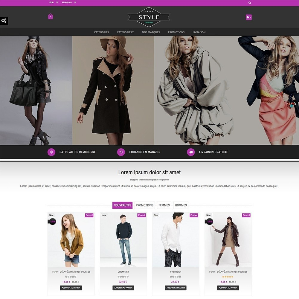 theme - Moda y Calzado - STYLE-FASHION - 2