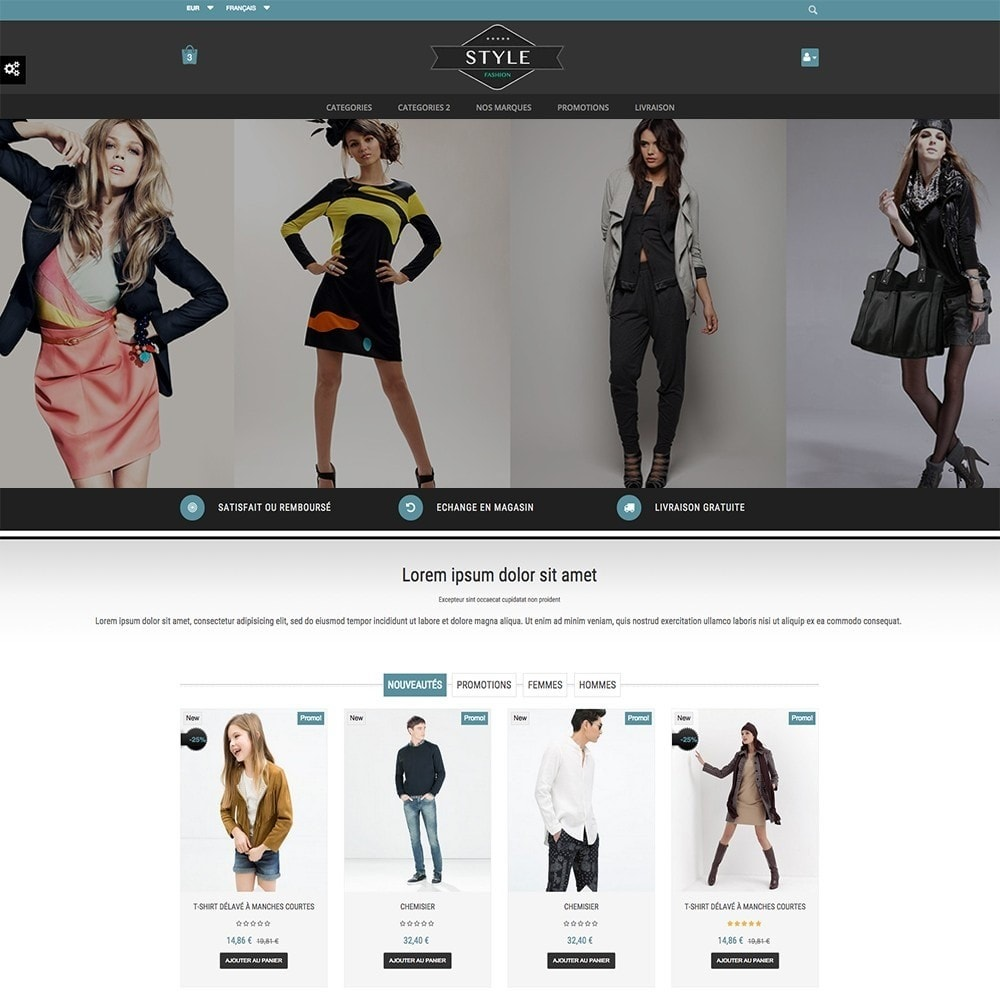 theme - Moda y Calzado - STYLE-FASHION - 3