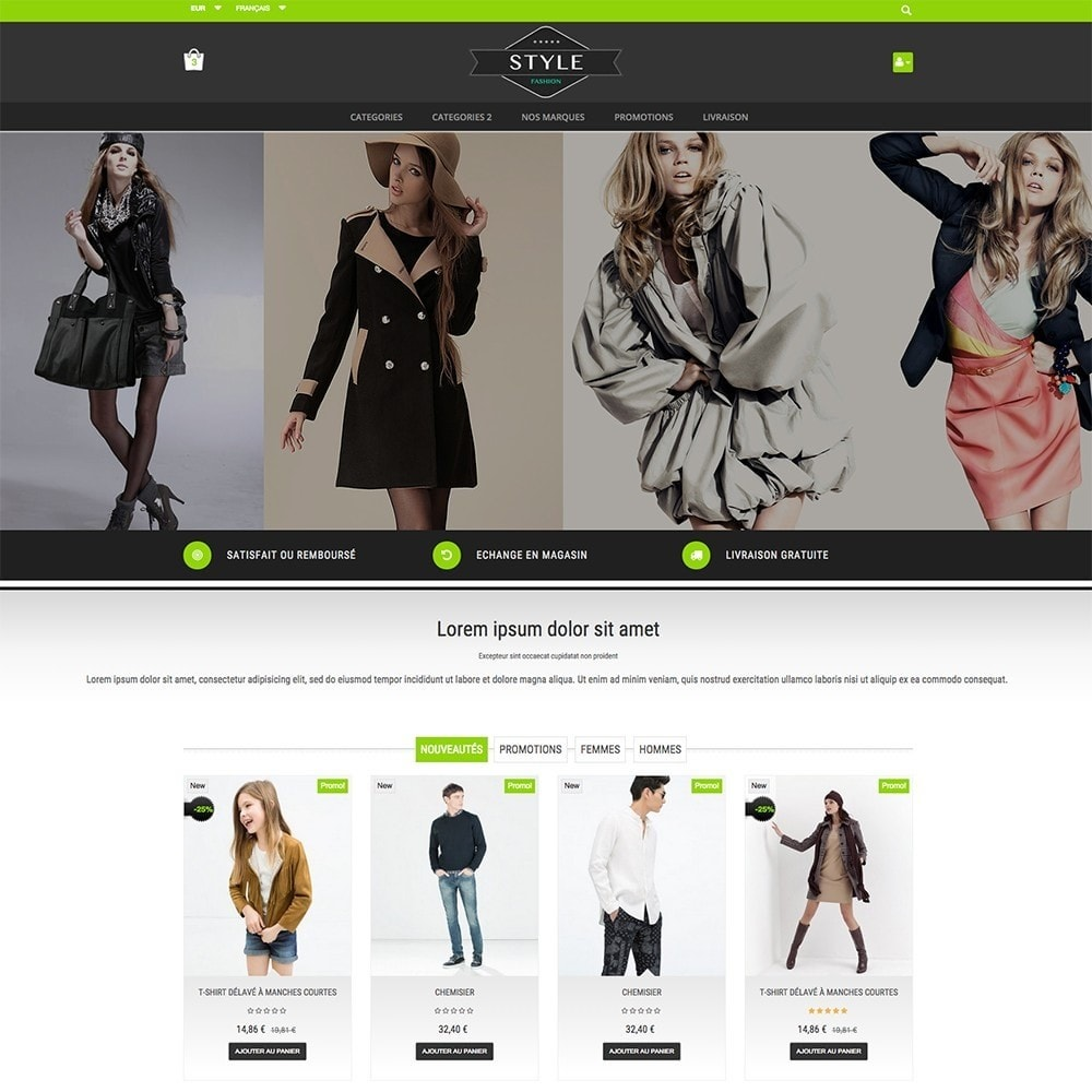theme - Moda y Calzado - STYLE-FASHION - 5
