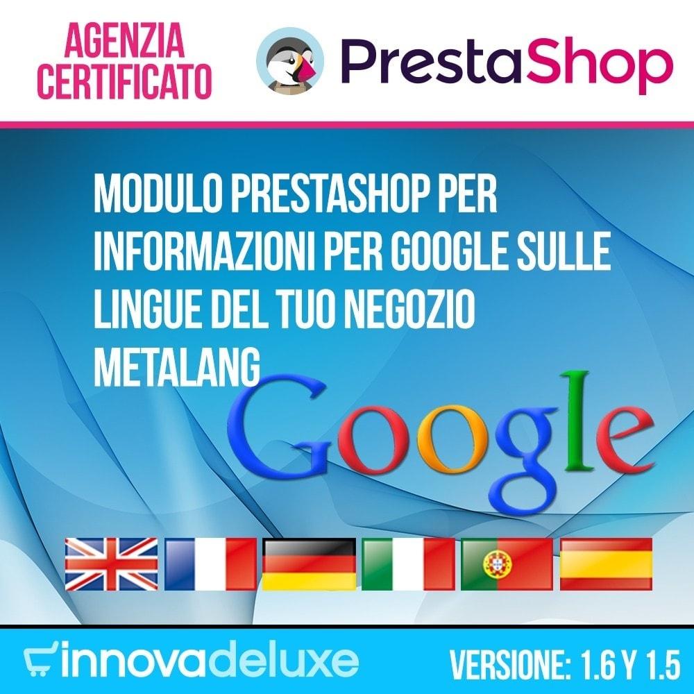 module - Lingue & Traduzioni - Informazioni per Google sulle lingue del tuo negozio - 1