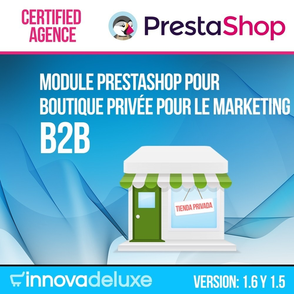 module - B2B - Boutique Privée pour le marketing B2B - 1