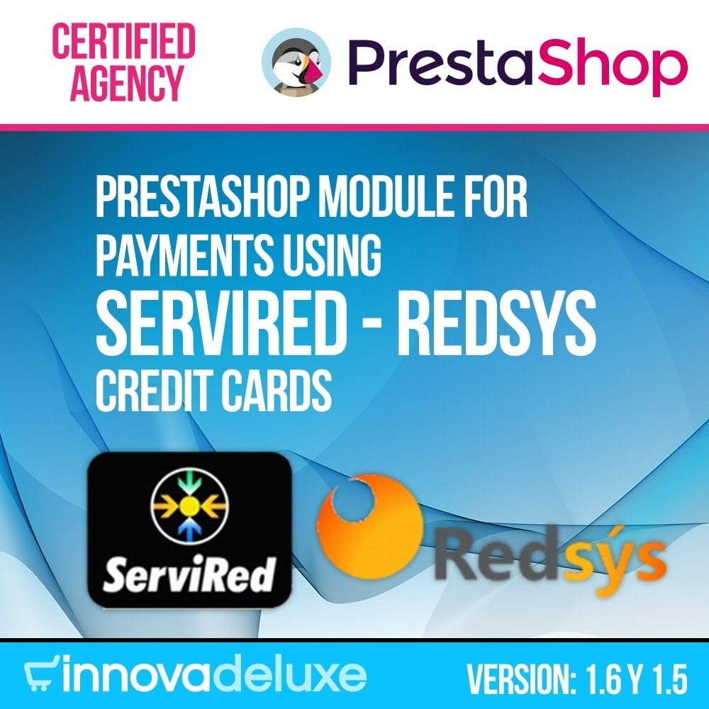 module - Payment by Card or Wallet - Card payment (REDSYS SHA256) Virtual POS - 1