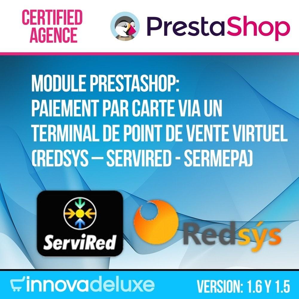 module - Paiement par Carte ou Wallet - Paiement par Carte via TPV virtuel (REDSYS SHA256) - 1
