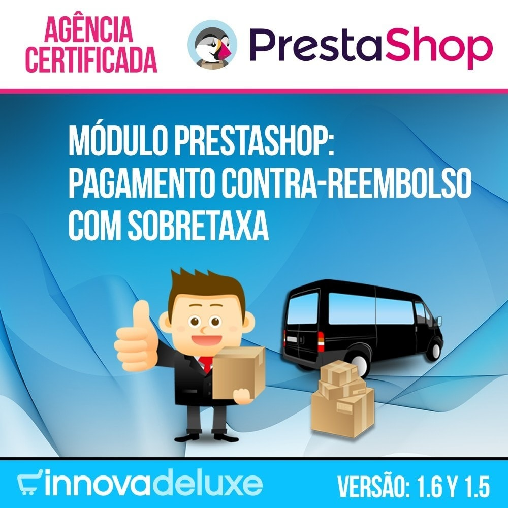 module - Pagamento em dinheiro na entrega - COD - Cashdelivery with fee (ranks and restrictions) - 1