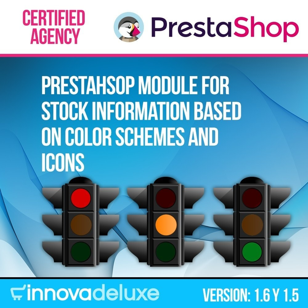 module - Bijkomende Informatie - Indicator of stock available in product page - 1