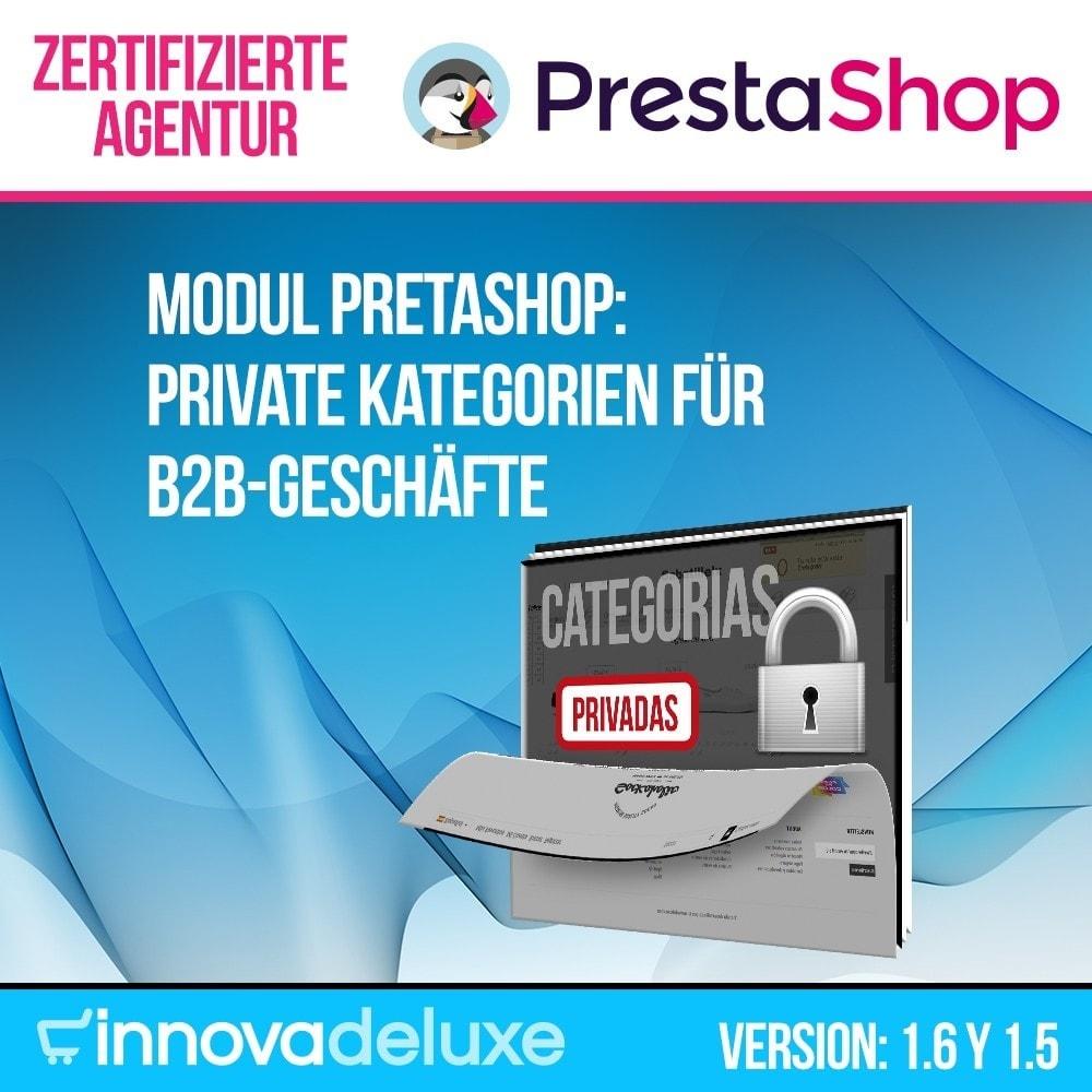 module - B2B - Private Kategorien für B2B-Geschäfte - 1