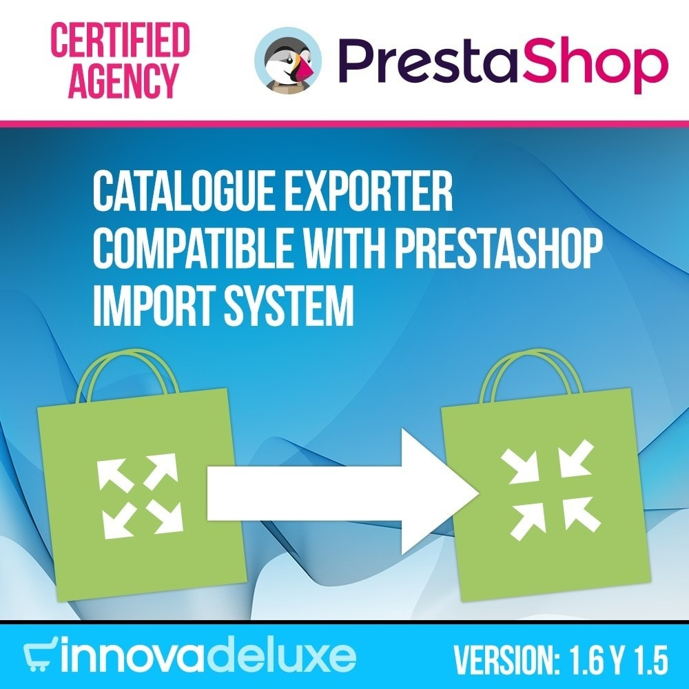 module - Импорт и Экспорт данных - Catalogue exporter for official importer - 1