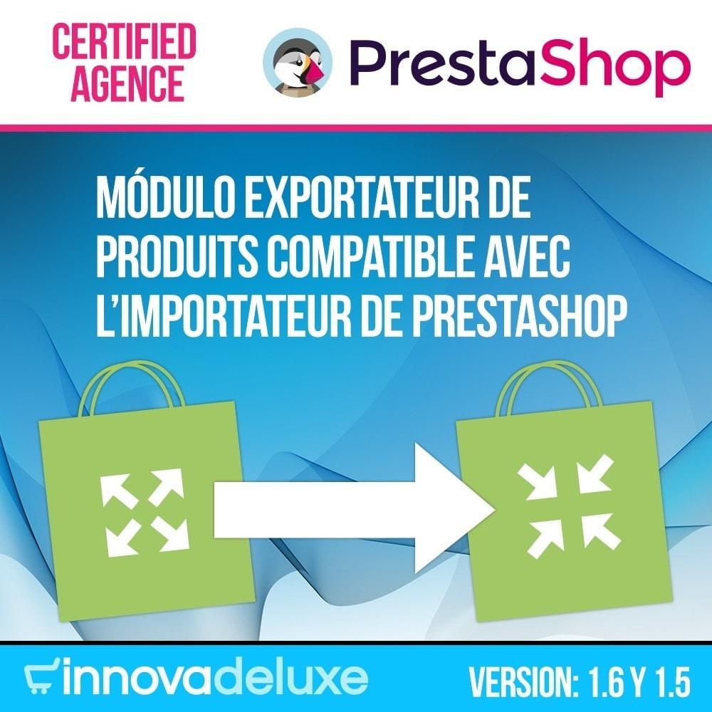 module - Import & Export de données - Exportateur compatible avec l'importateur de Prestashop - 1