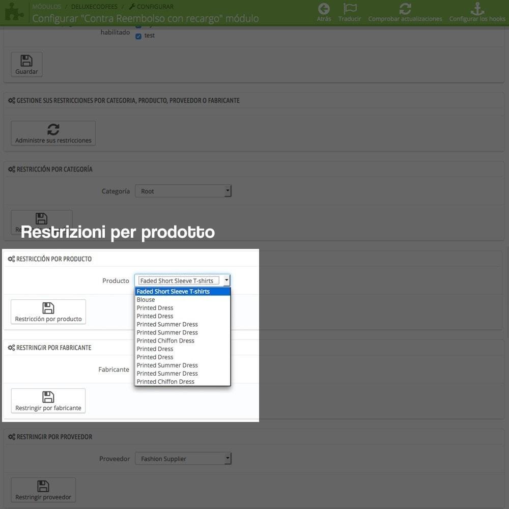 module - Pagamento alla Consegna (in contrassegno) - Pagamento in contrassegno con supplemento - 11