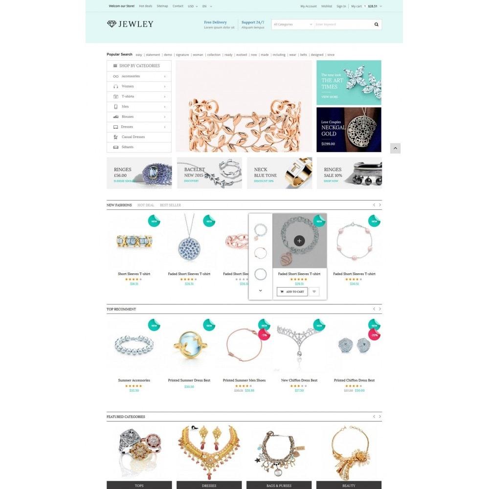 Jewely - Jewelry Store Responsive PrestaShop