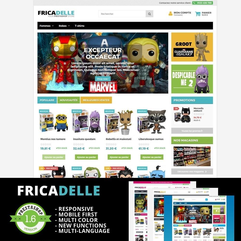 theme - Zabawki & Artykuły dziecięce - Fricadelle Responsive - 1