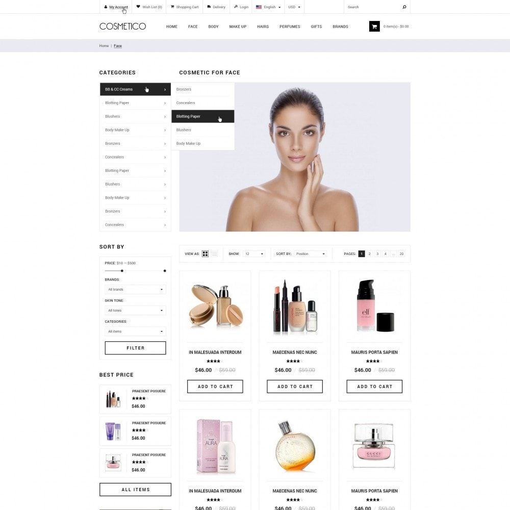 Cosmetico - Cosmetica Winkel